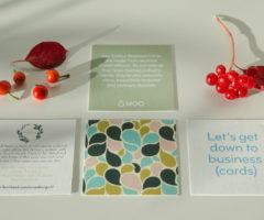 MOO cards presentation
